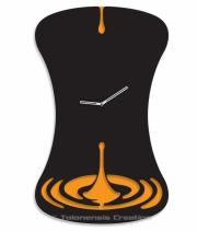Projet Horloge murale Goutte  - Design Jacques Lahitte © Tolonensis Creation