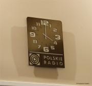 Horloge Radio-contrôlée pour la salle de conférence de la Radio polonaise - Design Jacques Lahitte © Tolonensis Creation