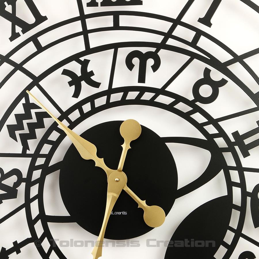 Horloge astronomique grande taille Zodiac