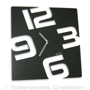 Horloge contemporaine  TEMPORIS - Design Jacques Lahitte © Tolonensis Creation