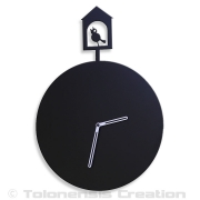 Horloge coucou CUCKOO - Design Jacques Lahitte © Tolonensis Creation