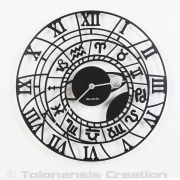 Horloge exotique COLOMBUS - Design Jacques Lahitte © Tolonensis Creation