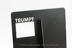 Serre-livres Chopin pour la société Trumpf