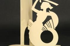 Serre-livres Sirène - Design Jacques Lahitte © Tolonensis Creation