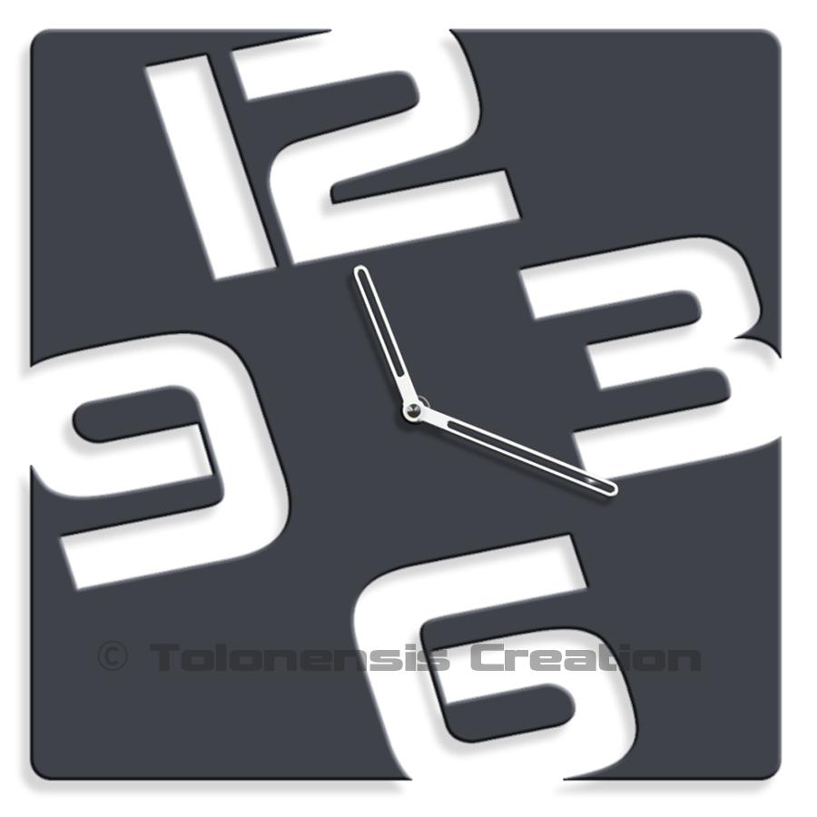 Horloge murale Design TEMPORIS