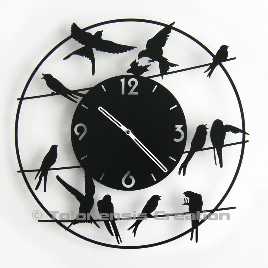 Horloge Oiseaux BIRDY