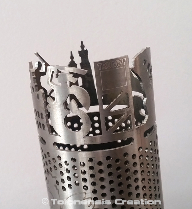 3D Laser Cutting by Tolonensis Creation