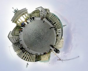 Effet photographique Little Planet Pariser Platz