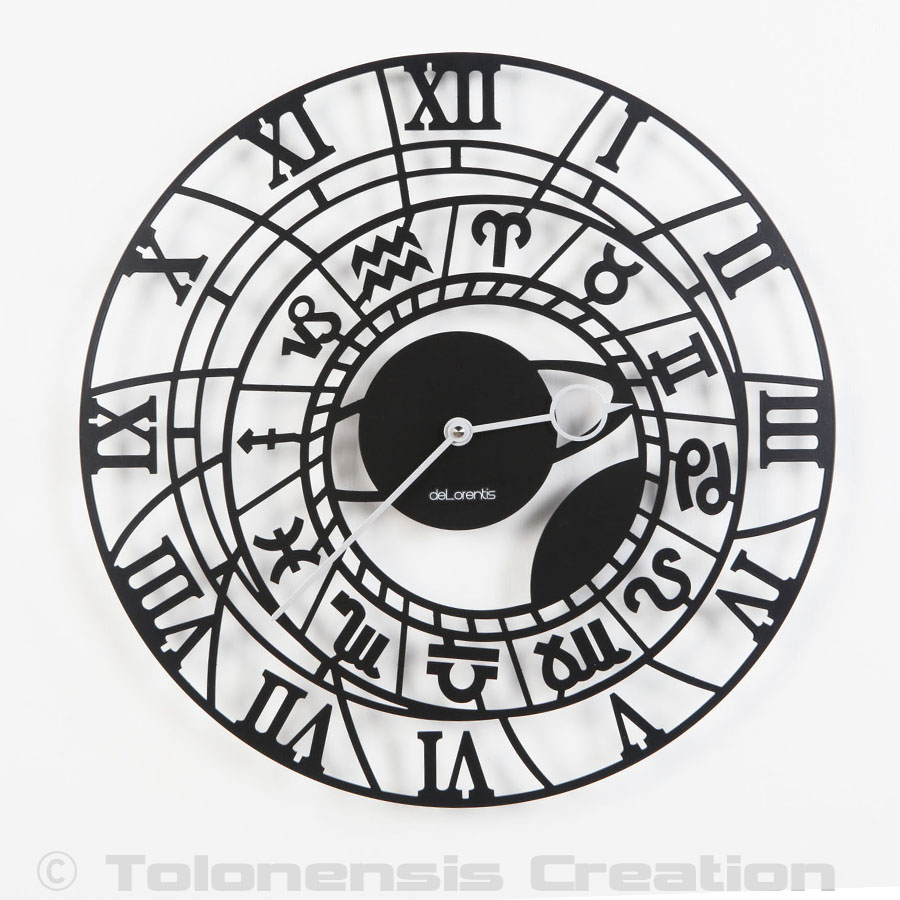 Horloge astronomique Zodiaque