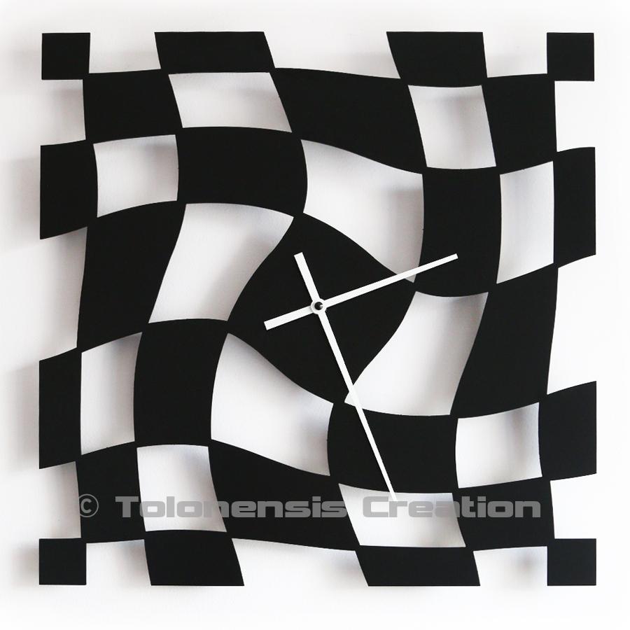 Horloge design TWIST 40 cm