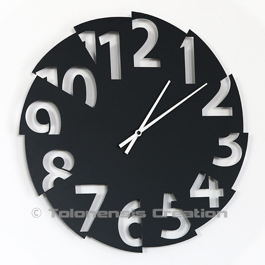 Horloge design Broken Time