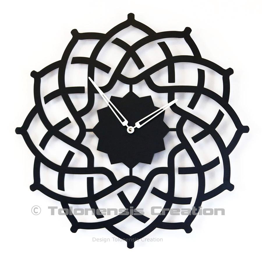 Horloge orientale Arabesque