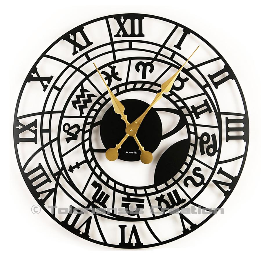 Horloge grand format Zodiaque 86 cm
