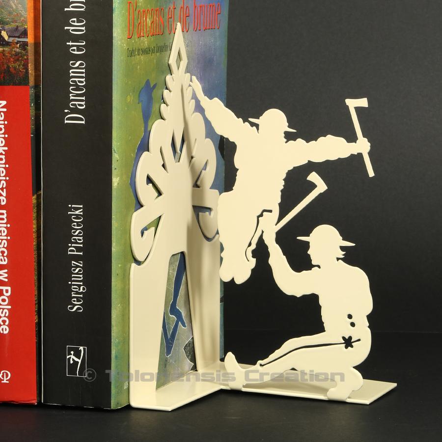 Serre-livres des montagnards Górale de la région de Zakopane