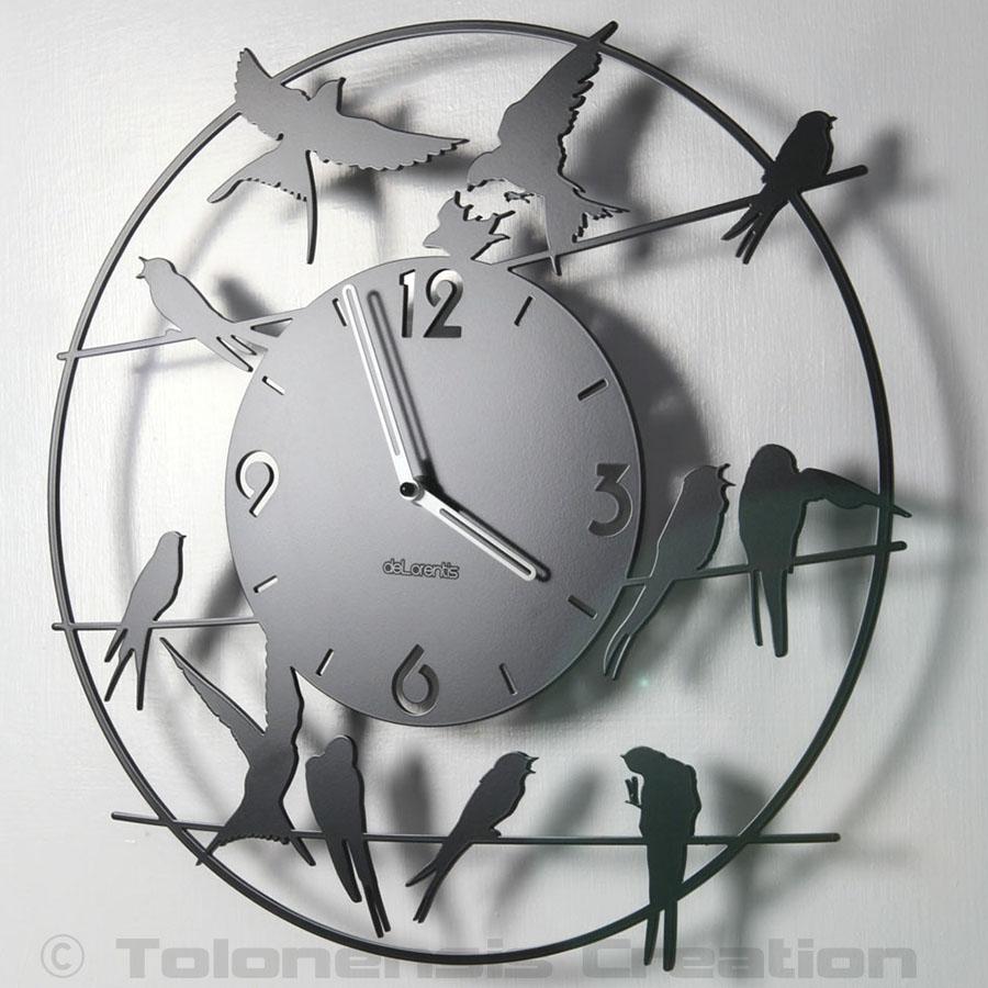 L'horloge oiseaux BIRDY, un modèle pas comme les autres