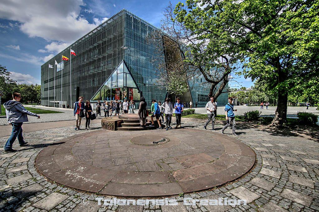 Le Musée de l'Histoire des Juifs Polonais POLIN de Varsovie