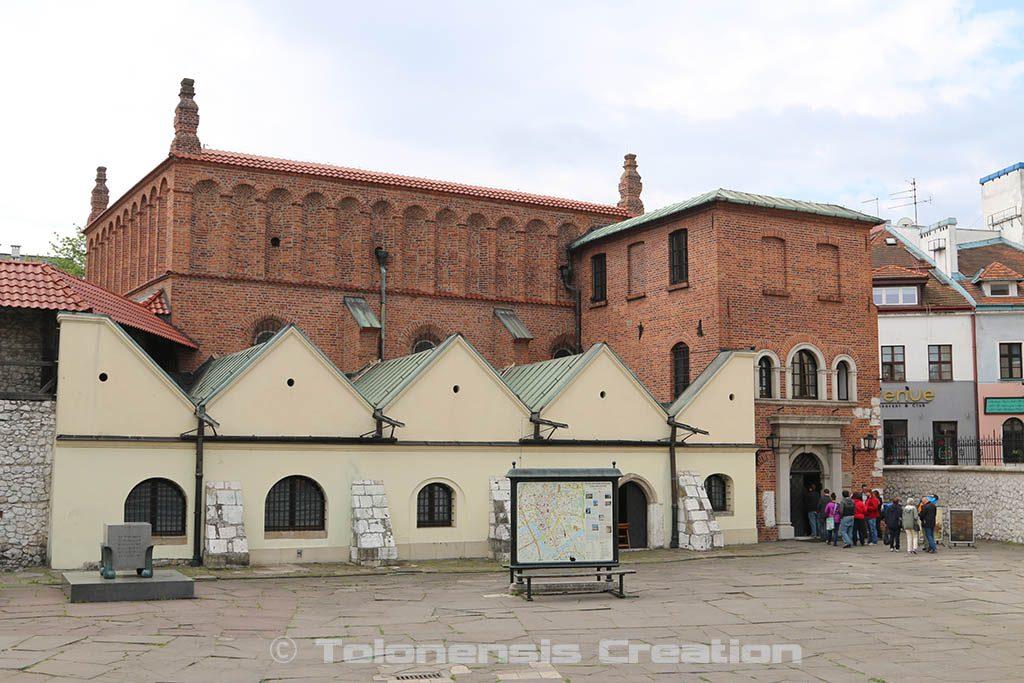 Musée du Judaïsme situé dans l'ancienne Vieille synagogue (Stara synagoga) de Cracovie - Photo © Tolonensis Creation