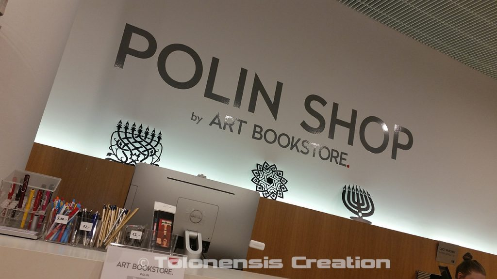 Tolonensis Creation is presented at the gift Shop of the Jewiish Museum POLIN in Warsaw