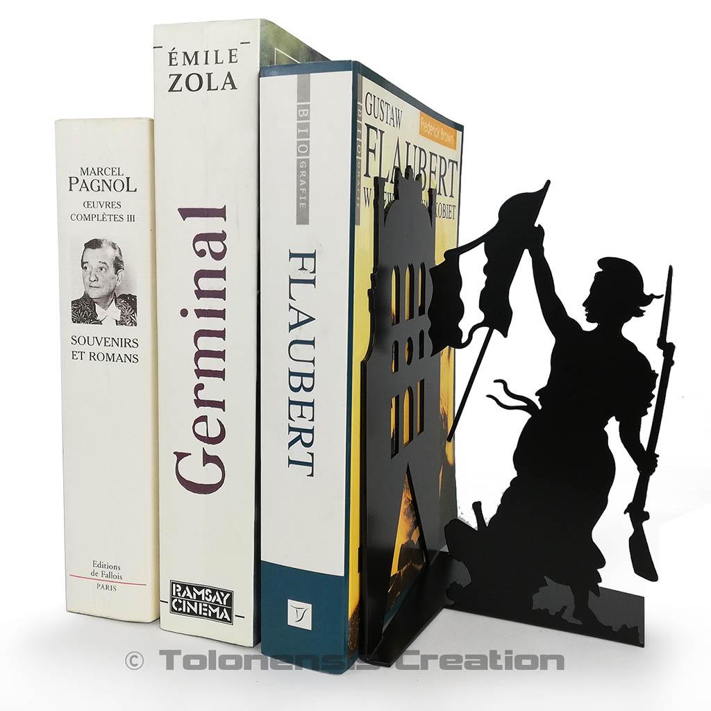 Serre livres de la Liberté guidant le Peuple