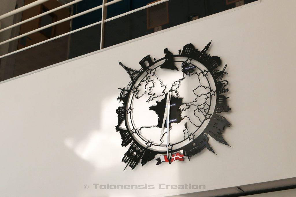 La décoration personnalisée Little Planet de la société Chr. Hansen