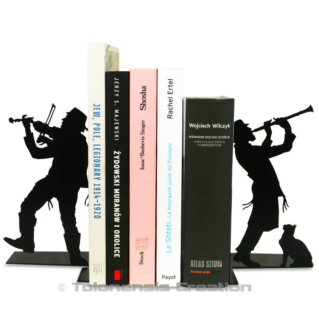 Bookend Judaica Klezmer