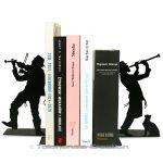 Serre-livres Klezmer - Bookends Judaica Klezmer