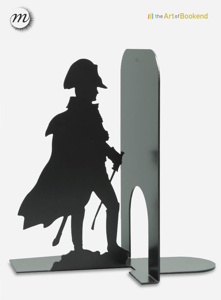 Serre-livres Napoléon devant ses troupes