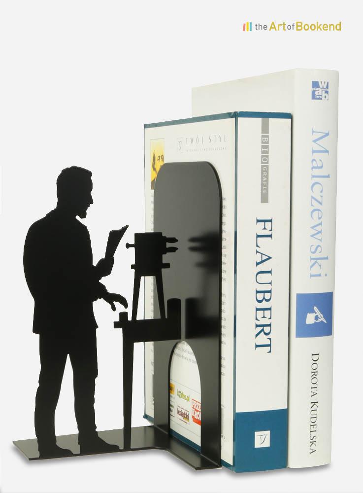Serre-livres Pierre Curie
