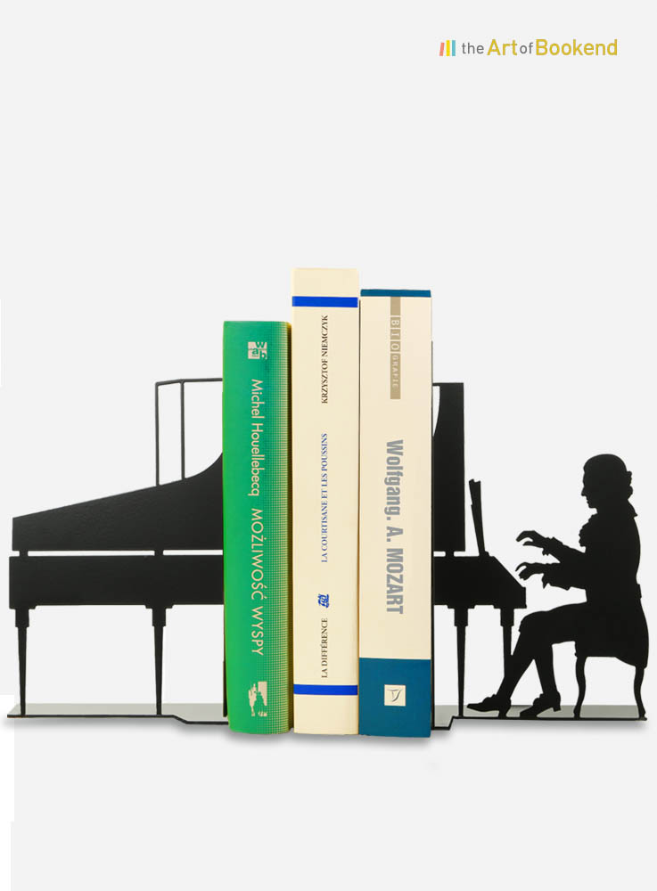 Serre-livres Wolfgang Amadeus Mozart